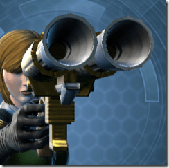 Alliance Blaster Pistol - Front