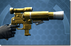 Alliance Blaster Pistol - Right