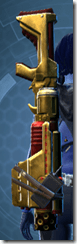 Alliance Blaster Rifle - Stowed