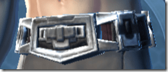 Alliance Consular Male Sash