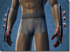 Alliance Inquisitor Male Handwraps