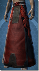 Alliance Inquisitor Male Legwraps