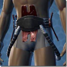 Alliance Inquisitor Male Waistwrap