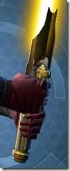 Alliance Lightsaber - Back