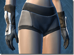 Alliance Trooper Female Gauntlets