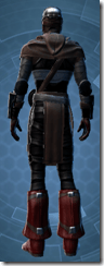 Dark Reaver Agent - Male Back