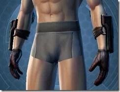 Dark Reaver Agent Male Gloves