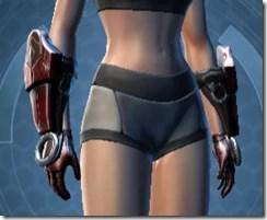 Dark Reaver Hunter Female Gauntlets