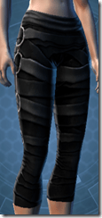 Dark Reaver Hunter Female Legplates