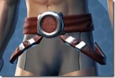 Dark Reaver Hunter Male Belt