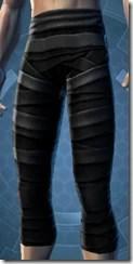 Dark Reaver Hunter Male Legplates