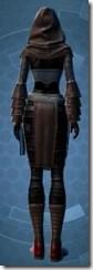 Dark Reaver Inquisitor - Female Back