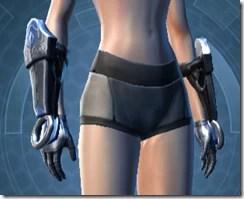 Dark Reaver Knight Female Gloves