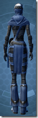 Dark Reaver Smuggler - Female Back