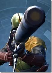 Dark Reaver Sniper Rifle - Front