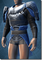 Dark Reaver Trooper Male Body Armor