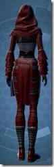 Deceiver Inquisitor - Female Back