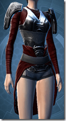 Deceiver Trooper Female Body Armor
