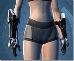Deceiver Trooper Female Gauntlets
