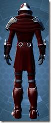 Deceiver Warrior - Male Back