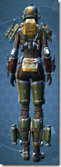 Exhumed Hunter - Female Back