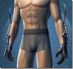 Exhumed Inquisitor Male Gloves