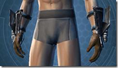 Headhunter Male Body Gauntlets