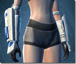 Massassi Trooper Female Gauntlets
