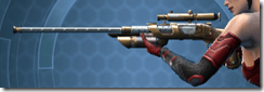 Raider's Cove Sniper Rifle - Left