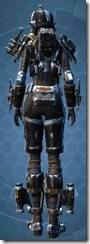 Resurrected Hunter - Female Back