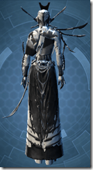 Resurrected Inquisitor - Female Back