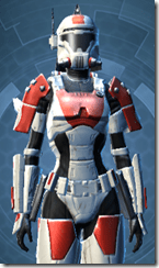 Resurrected Trooper - Female Close