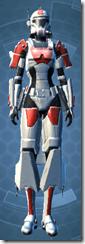 Resurrected Trooper - Female Front