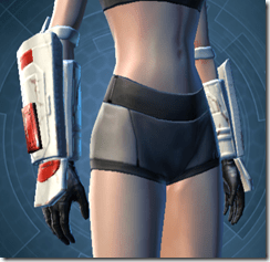 Resurrected Trooper Female Gauntlets