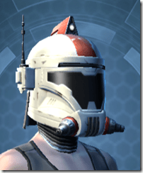 Resurrected Trooper Female Helmet