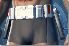 Resurrected Trooper Male Belt