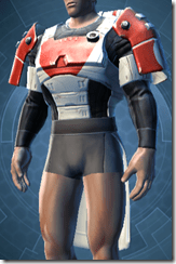 Resurrected Trooper Male Body Armor