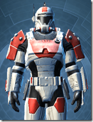 Resurrected Trooper - Male Close