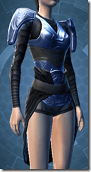Revanite Trooper Female Body Armor