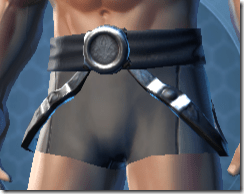 Revanite Trooper Male Belt