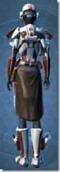 Shield Warden - Female Back