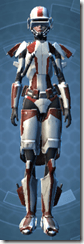 Shield Warden - Female Front