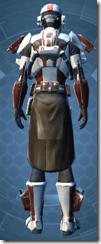 Shield Warden - Male Back