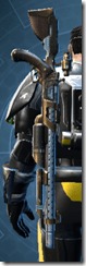 Sky Ridge Blaster Rifle - Stowed