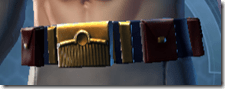 Sky Ridge Warrior Male Belt