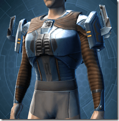 Yavin Hunter Male Body Armor