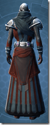 Yavin inquisitor - Male Back