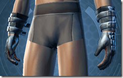 Yavin inquisitor Male Handwraps