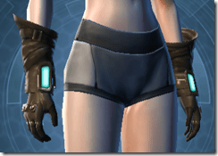 Nefarious Bandit Female Gloves