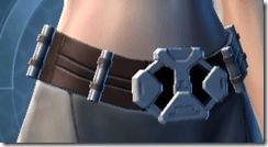 Silent Ghost Female Belt